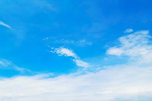 Blue sky summer background clouds