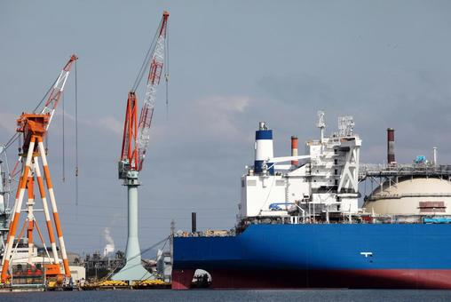Cargo ship crane