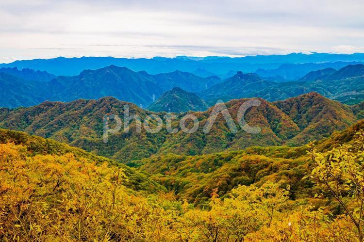 碓氷峠見晴台からの絶景な眺めの写真