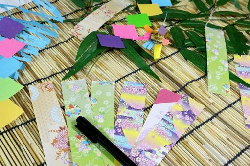 Tanabata write a wish