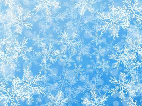 Snow crystal background 8