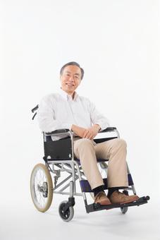 Men on a wheelchair 2