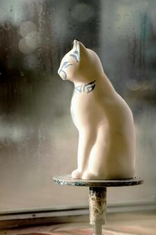 Pottery cat 1
