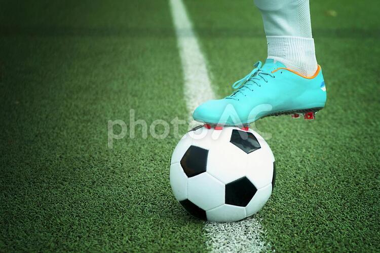 サッカー選手4の写真