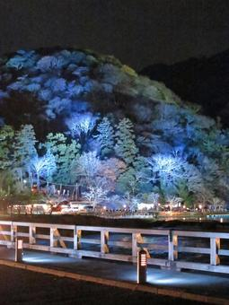 Kyoto Arashiyama lantern road 1