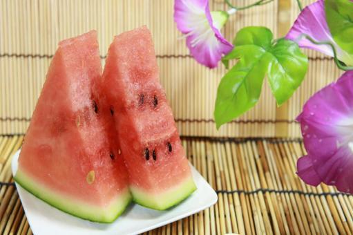 Cold watermelon Summer tradition Watermelon