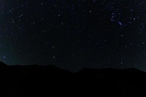 Starry sky shooting
