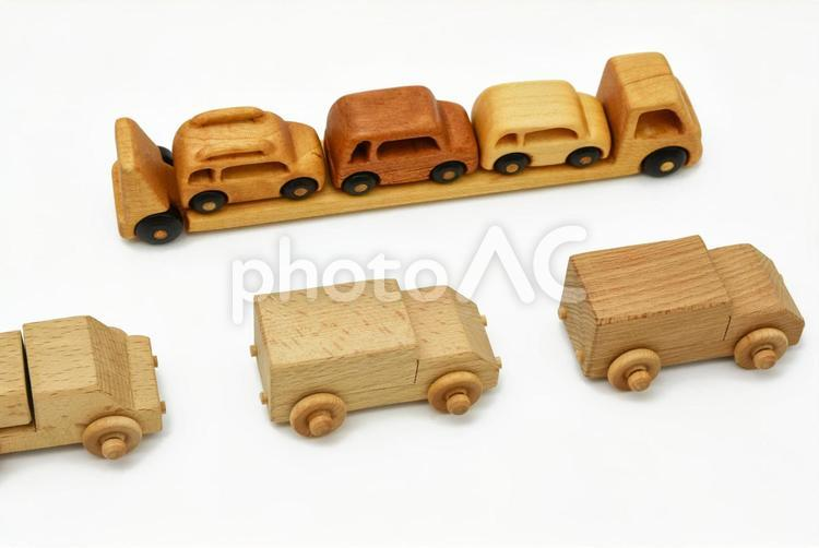 物流のイメージ キャリアカー トラックの写真