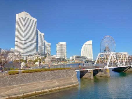 [Kanagawa Prefecture] Scenery of Minato Mirai, Yokohama