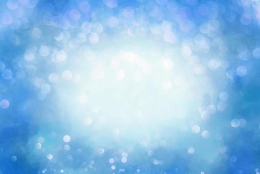 Glitter kirakira background frame