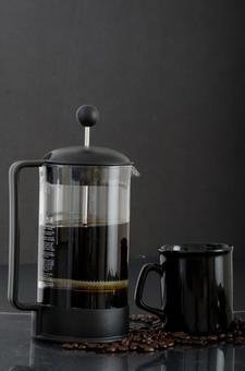 French press and cup 4