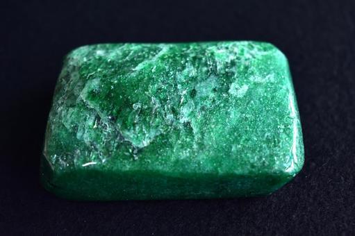 Raw stone of natural stone aventurine