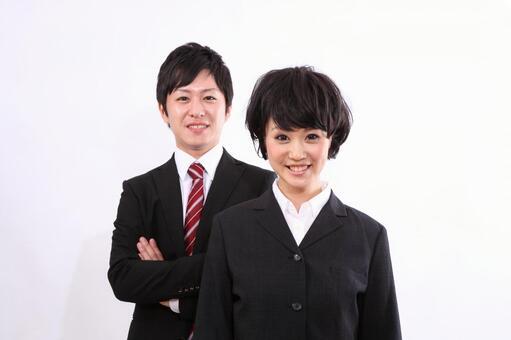 Businessman, business woman 8