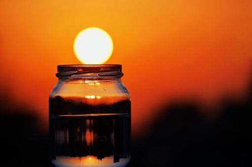 In the bottle-2 ~ sunset cocktail ~