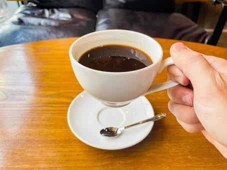 Hot coffee, cafe, coffee
