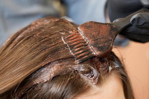 색상 여성의 머리 1