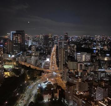 도쿄 타워의 전망