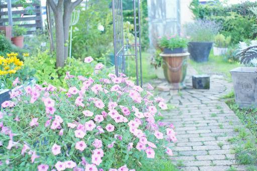 自然氛圍花園