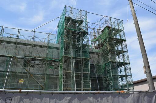 Construction site under construction