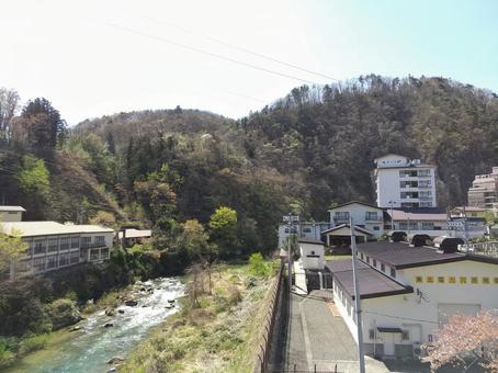 Anahara Onsen and Surikami River Iizaka Town