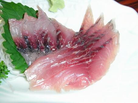 배 생선회
