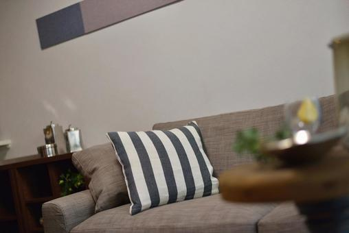 Sofas and cushions for a relaxing time in the living room