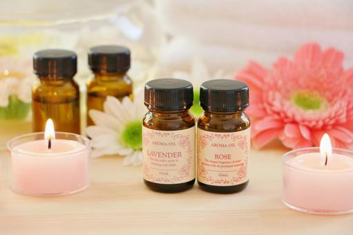 Aroma candles and oil