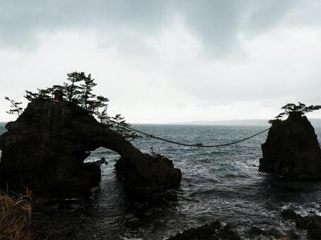 전설이 남아있는 곳기구 바위