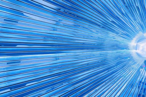 Radial Background - Blue