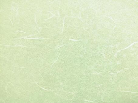 Green Japanese paper texture background material