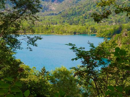 The surface of Lake Okotanpe