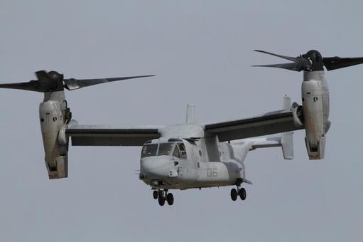 Osprey helicopter mode