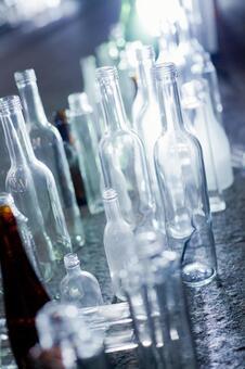 Glass bottle 9