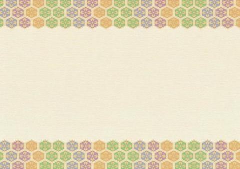Japanese paper background 9. Beige paper