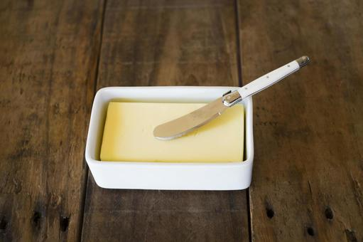 Butter Case and Butter Knife