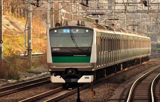 Jingjing Line E233 Series Tram
