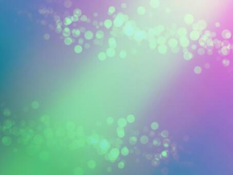 Background material · design · green light streaks