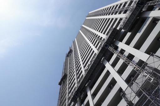 부유층이 사는 고급 타워 아파트