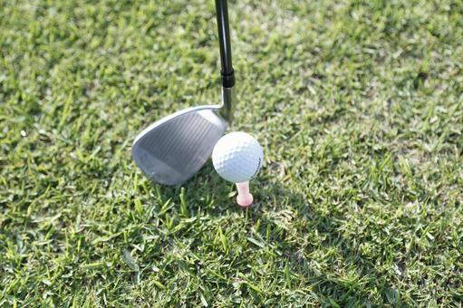 Grass Club and Golf Ball 21