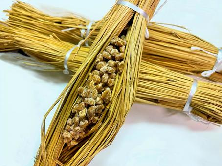 Food material __ Straw natto 2