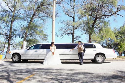 Photo Wedding Limousine
