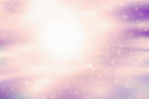 보라색과 분홍색 그라데이션 반짝이 배경