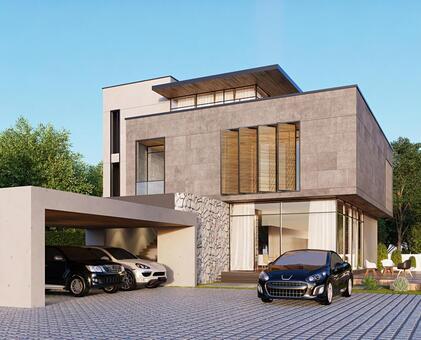 房子和汽車 4