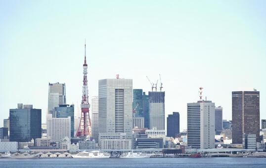 东京天际线