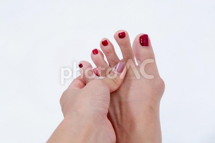 足指の写真