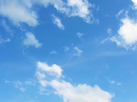 Summer blue sky 4