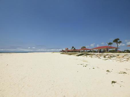 토요 해변 공원 오리온 ECO 빌라 SUN 해변 (오키나와 현 도미 구스 크시 토요)