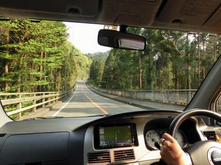 Mountain road drive 3