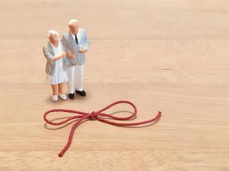 Grandpa / Grandma and Ribbon