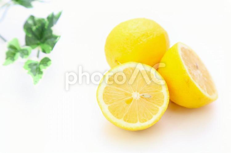 切ったレモン4の写真